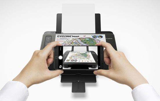 Copy Dokument Pada printer TS 307 melalui smartphone
